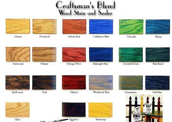 Woodwork Color Stains For Wood Pdf Plans